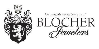 blocher logo b/white