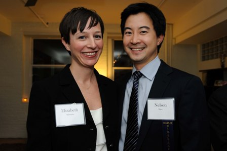 Nelson HIoe and Elizabeth Schwartz