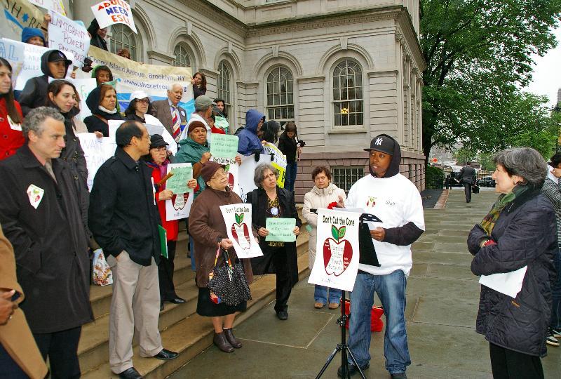 City Hall Rally
