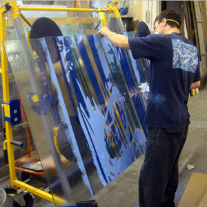 news from architectural glass art
