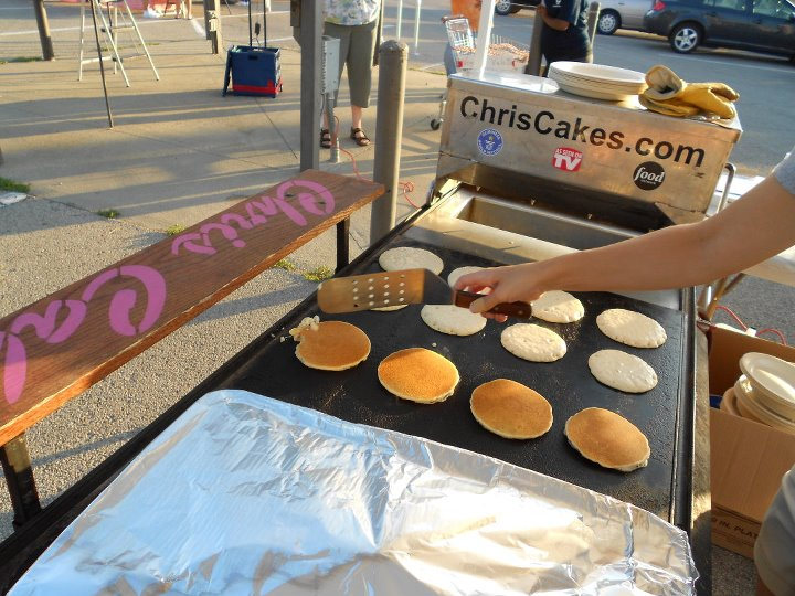HALO pancake fundraiser.