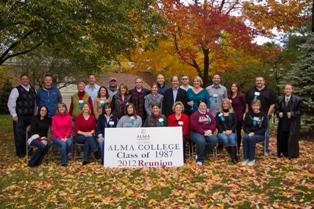 25 yr reunion.Class of 1987