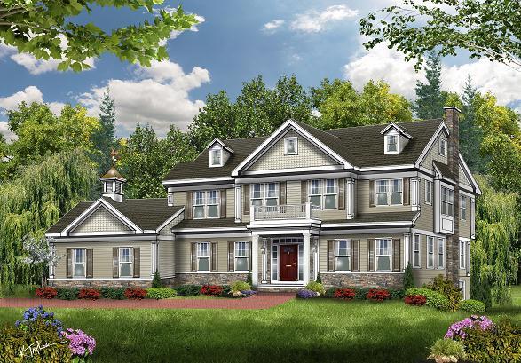 4 Forest Glen Court, Westfield NJ Rendering