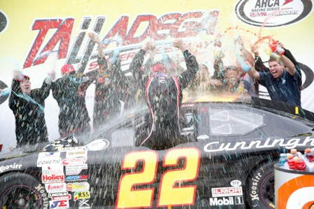 Armstrong Talladega Victory