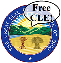 Ohio Free CLE seal