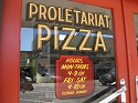 Proletariat Pizza Door