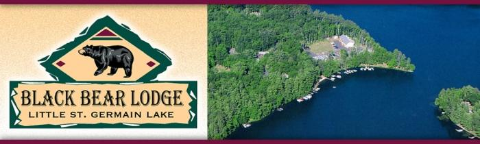 Black Bear Lodge Aerial Photo Logo