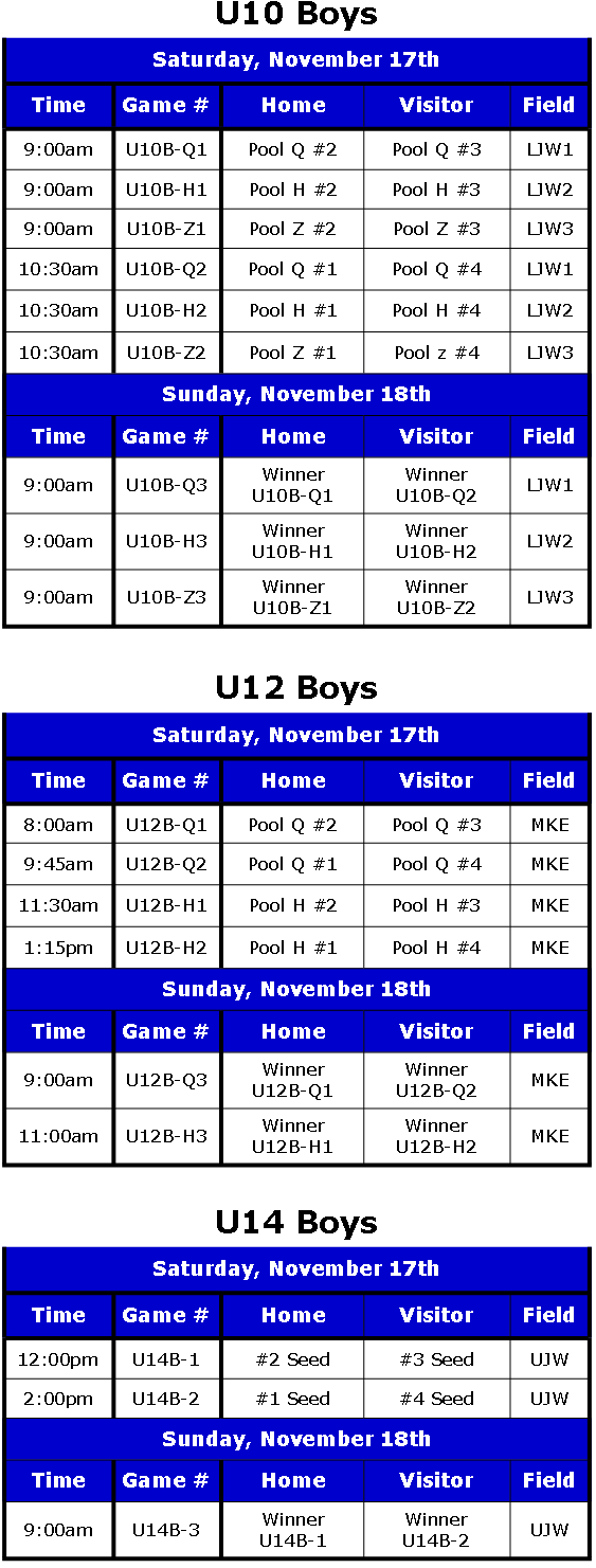 Play-Off Schedule 2012 Rev. 2 Boys