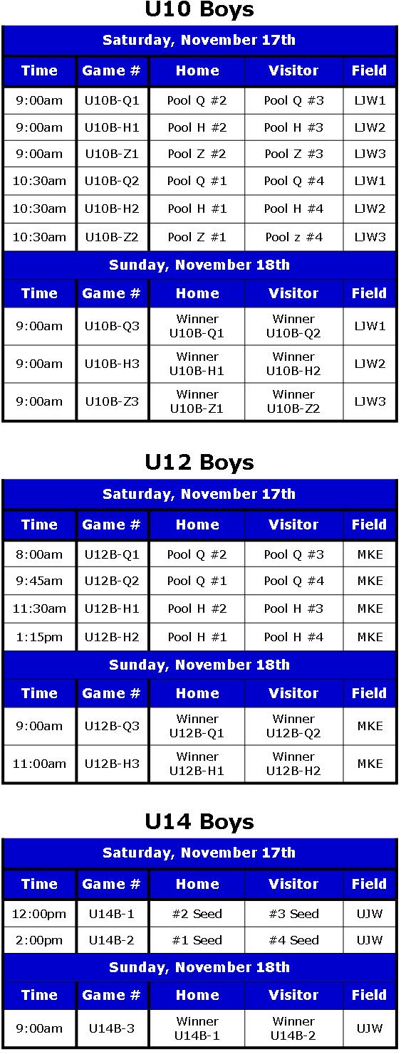 Play-Off Schedule 2012 Rev. 2 Boys