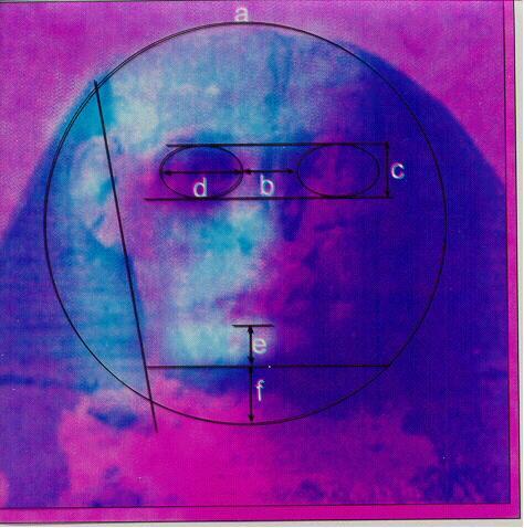 Mars Face 3