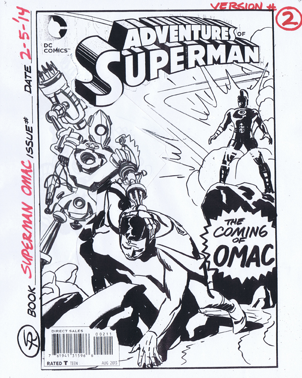 Superman Rough Take 2