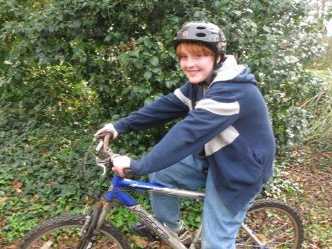 Happy biker!