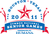 2011 National Senior Games logo