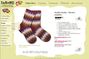 Wallis Merlot Socks