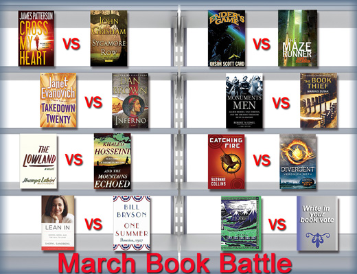 March Book Battle