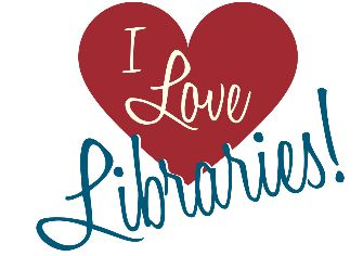 I Love Libraries logo