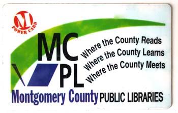 MCPL library card