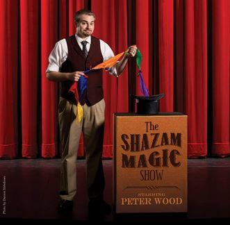 Magician Peter Wood