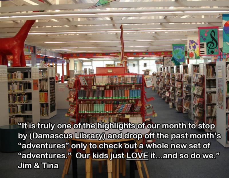 Damascus Library - Children's Area
