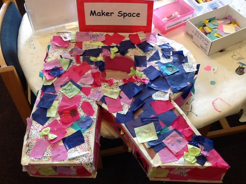 White Oak Library Maker Station