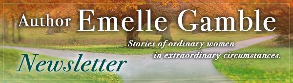 Author Emelle Gamble Newsletter