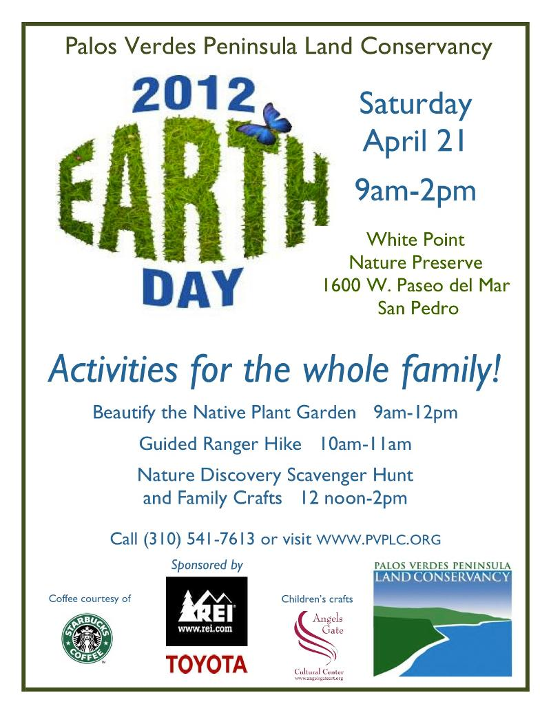earth day at PVPLC