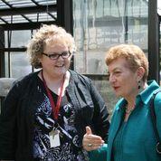 Brenda Dann Messier and Teacher