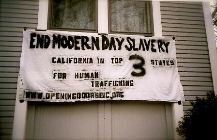 Human Trafficking Awareness Banner