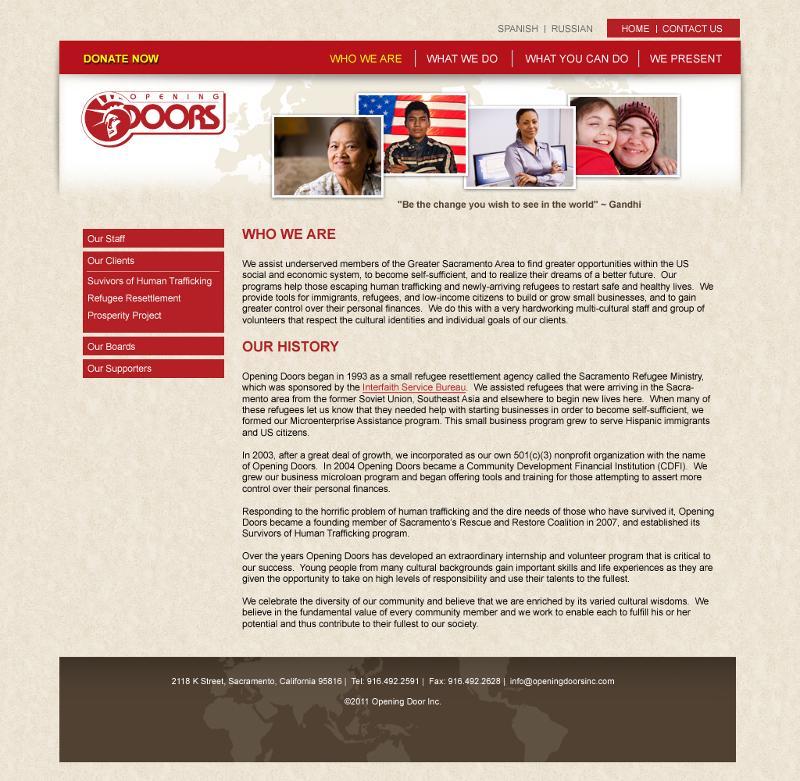 website screenshot2