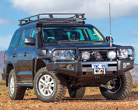 2012 On Toyota Land Cruiser 200 Series Deluxe Winch Bar