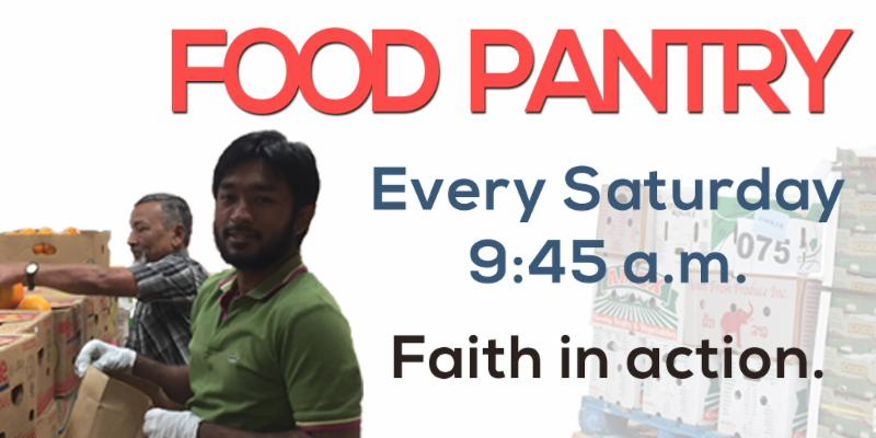 Food Pantry Banner