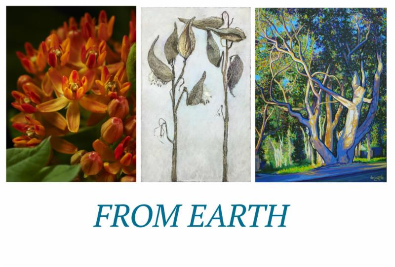 Tall Grass Arts Association to Host Artist Reception for 'From Earth' Exhibit on Saturday, April 30