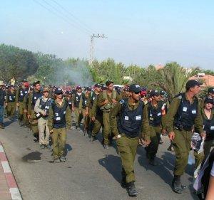 soldiers gush katif