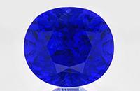 Unheated Burma Blue Sapphire