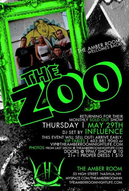 The Zoo May 29 Amber Room NH