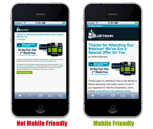 Get Mobile Friendly