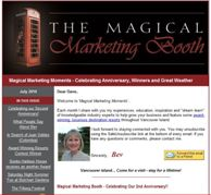 The Magical Marketing Booth
