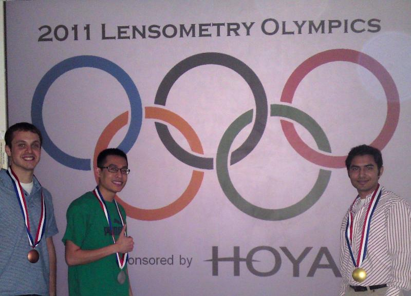Lensometry Olympics 2011 winners