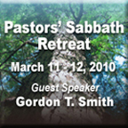 Pastor Sabbath 2010 button