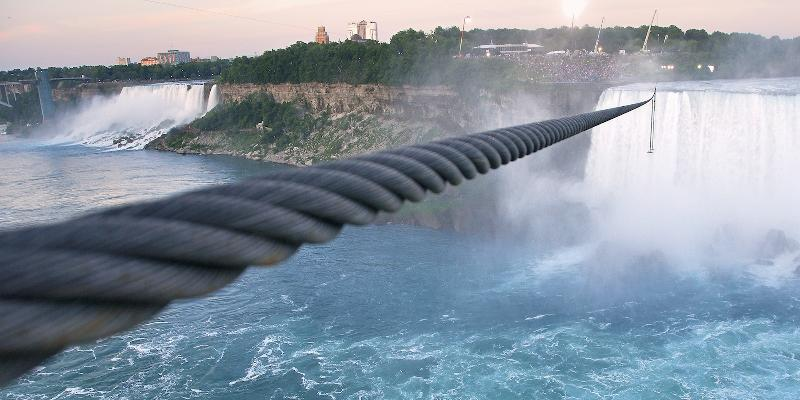 Cable Over Niagara Falls
