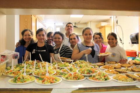 Kitchen Staff at MN
