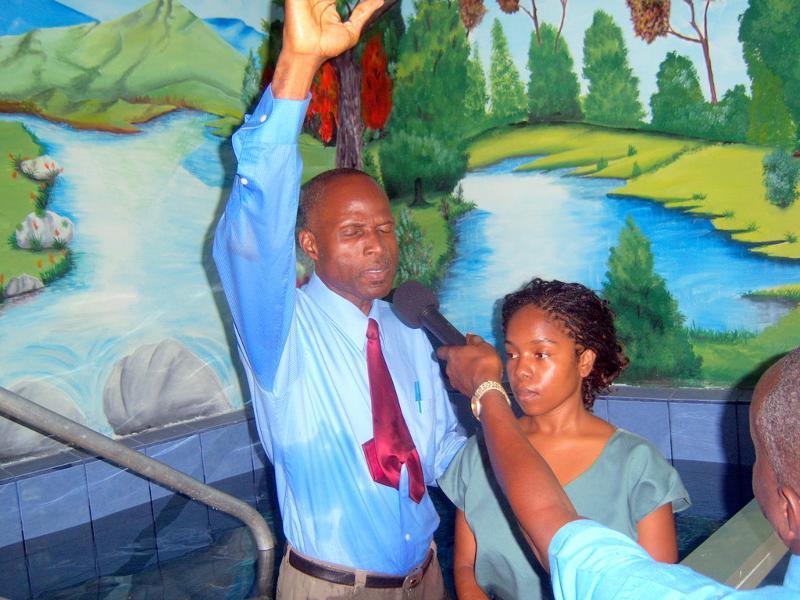Costa Rica Baptism