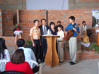 Kim Family Singing