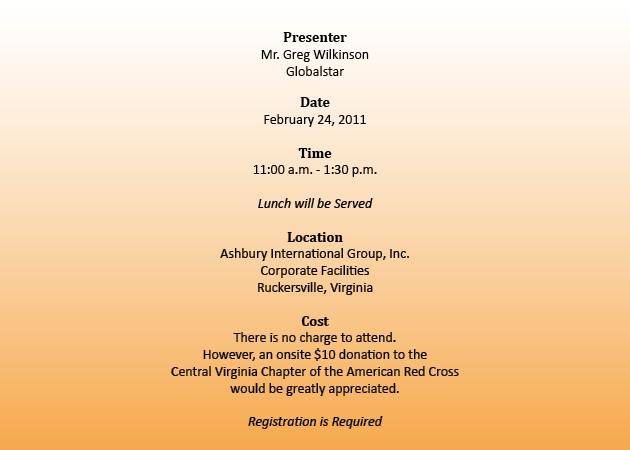 Invitation Body