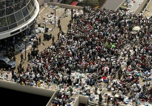 Hurricane Katrina Survivors Photo