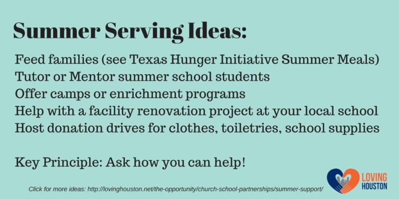 Summer Serving Ideas