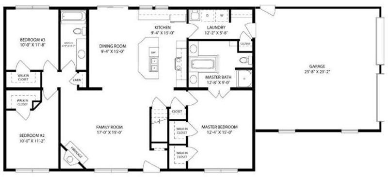 house floor plans 3 bedroom 2 bath with basement. click here to zoom in on this floor plan house plans 3 bedroom 2 bath with basement l