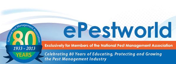 NPMA's ePestWorld: November 5, 2013