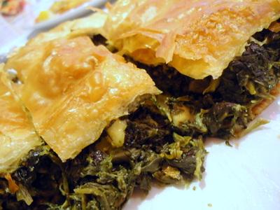 fat greek spinach pie