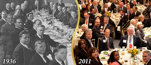 The faces of the N.J. Chamber - 1936 to 2011